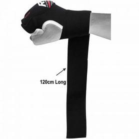 Фото 3 к товару Бинт-перчатка RDX Neopren Gel Red