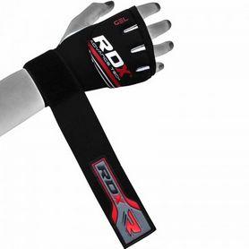 Фото 4 к товару Бинт-перчатка RDX Neopren Gel Red