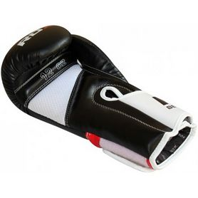 Фото 4 к товару Перчатки боксерские RDX Rex Leather Black