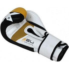Фото 5 к товару Перчатки боксерские RDX Yellow Pro