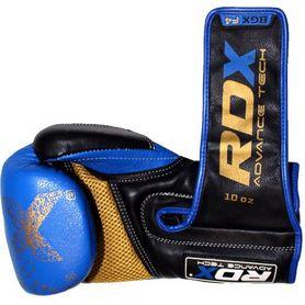 Фото 3 к товару Перчатки боксерские RDX Ultra Gold Blue