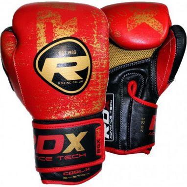 Перчатки боксерские RDX Ultra Gold Red