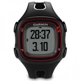 Спортивные часы Garmin Forerunner 10 черные с красным