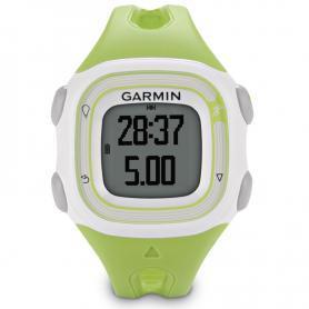 Спортивные часы Garmin Forerunner 10 зеленые с белым