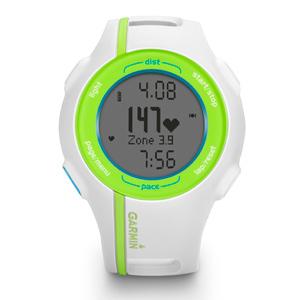 Спортивные часы Garmin Forerunner 210 HR белые с салатовым