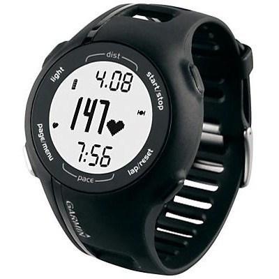 Спортивные часы Garmin Forerunner 210 HR черные с белым