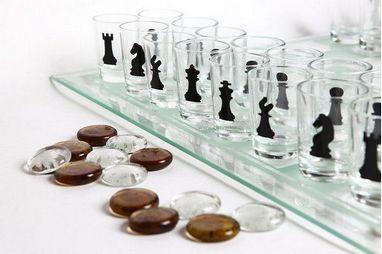 Набор из 3 игр: шахматы, шашки, карты Duke