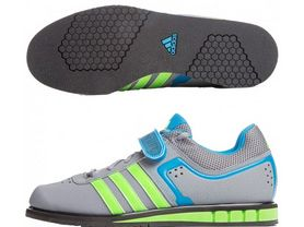 Фото 1 к товару Штангетки Adidas Powerlift II Weightlifting серые
