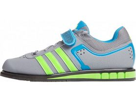 Фото 3 к товару Штангетки Adidas Powerlift II Weightlifting серые