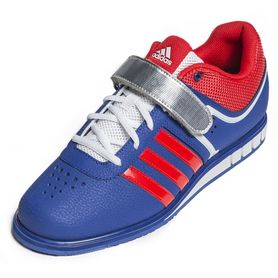 Фото 3 к товару Штангетки Adidas Powerlift II Weightlifting синие
