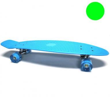 Скейтборд Penny Cruiser Fish Line 28-K зеленый