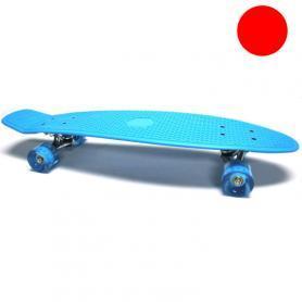 Фото 1 к товару Скейтборд Penny Cruiser Fish Line 28-K красный