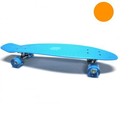 Скейтборд Penny Cruiser Fish Line 28-K оранжевый
