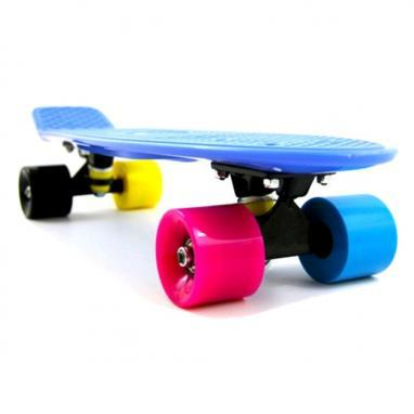 Скейтборд Penny Cruiser Fish X-5 life 22-OIY синий