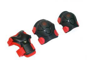 Фото 1 к товару Защита для катания детская (комплект) Radius ZLT красная