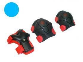 Защита для роликов детская Radius ZLT голубая