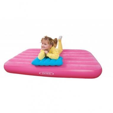 Матрас надувной детский Intex 66801 (157х88х18 см) розовый