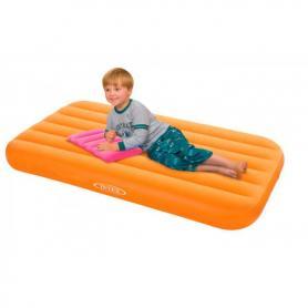 Матрас надувной детский Intex 66801 (157х88х18 см) оранжевый
