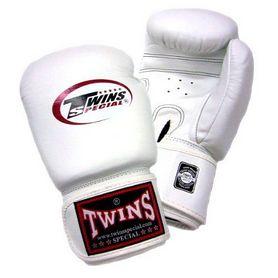 Фото 2 к товару Перчатки боксерские Twins BGVL-3 белые