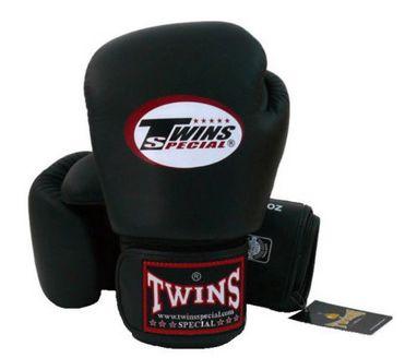 Перчатки боксерские Twins BGVL-3 черные