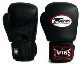 Фото 2 к товару Перчатки боксерские Twins BGVL-3 черные
