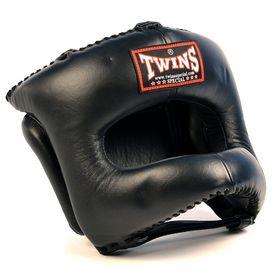 Фото 1 к товару Шлем боксерский тренировочный Twins HGL-9 с бампером