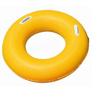 Круг надувной с ручками Bestway 36084 (91 см) желтый
