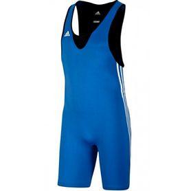 Трико борцовское мужское Adidas Base Wrestler синее