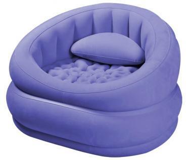Кресло надувное Lounge'N Chair 68563 Intex синее