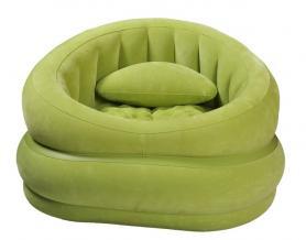Кресло надувное Lounge'N Chair 68563 Intex зеленое