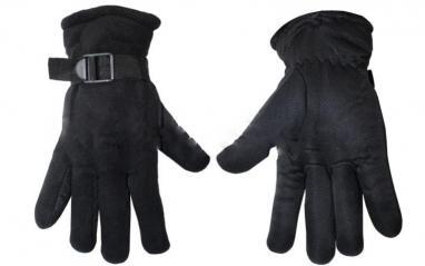 Перчатки флисовые Fishman черные