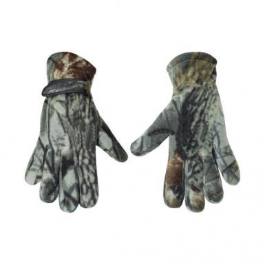 Перчатки флисовые Fishman камуфлированные BC-4630