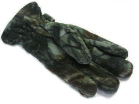 Фото 3 к товару Перчатки флисовые Fishman камуфлированные BC-4630