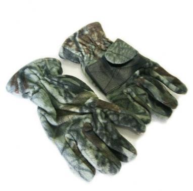 Перчатки флисовые Fishman камуфлированные BC-4629