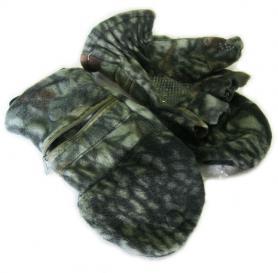 Перчатки-варежки флисовые Fishman камуфлированные