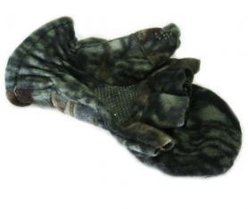 Фото 2 к товару Перчатки-варежки флисовые Fishman камуфлированные