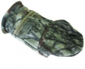 Фото 3 к товару Перчатки-варежки флисовые Fishman камуфлированные