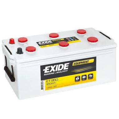 Аккумулятор тяговый свинцово-кислотный Exide Equipment ET 950 135 A/h