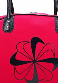 Фото 3 к товару Сумка женская Nike Heritage 76 Print Shoulder Clu красная