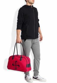 Фото 4 к товару Сумка женская Nike Heritage 76 Print Shoulder Clu красная