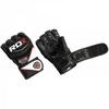 Перчатки ММА RDX Rex Leather Black - фото 2