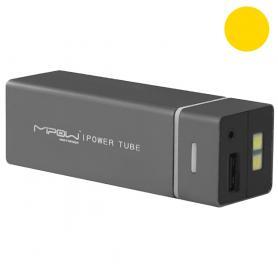 Устройство зарядное MiPow Power Tube 5500 золотистое