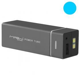 Устройство зарядное MiPow Power Tube 5500 голубое