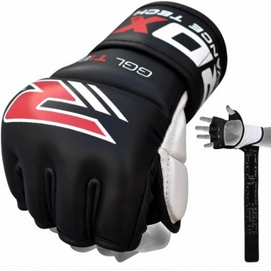 Перчатки MMA RDX Black 7