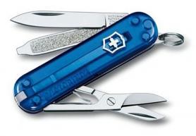 Фото 1 к товару Нож швейцарский Victorinox Сlassic-SD голубой