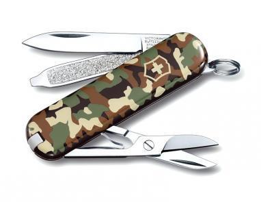 Нож швейцарский Victorinox Сlassic-SD камуфлированный