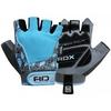 Перчатки для фитнеса женские RDX Ladies Gel Gym Gloves Blue - фото 1
