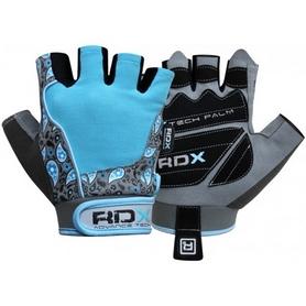 Перчатки для фитнеса женские RDX Blue - M