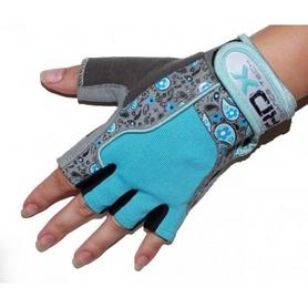 Фото 2 к товару Перчатки для фитнеса женские RDX Ladies Gel Gym Gloves Blue