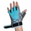 Перчатки для фитнеса женские RDX Ladies Gel Gym Gloves Blue - фото 3